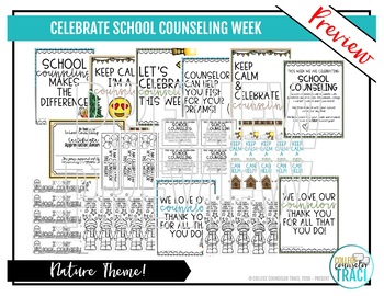 Celebrate School Counselors Week (Nature Theme)