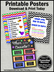 School Counselor Office Posters Set, Where is the Counselor Door Sign 8x10 16x20