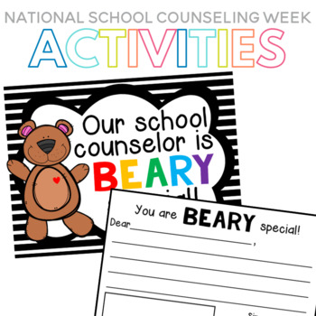 National School Counseling Week Class Book for the Counselor