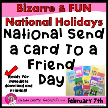 National Send a Card to a Friend Day (February 7th)