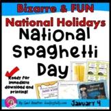 National Spaghetti Day (January 4th)