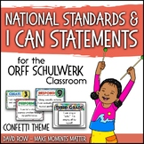 National Standards and I Can Statements for Music - Colorf