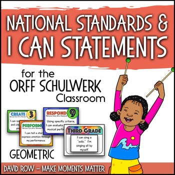 National Standards and I Can Statements - Geometric Theme
