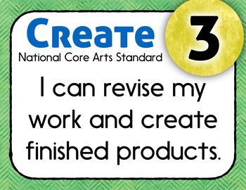National Standards and I Can Statements for Music - Herringbone Theme