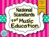 National Standards for Music Education