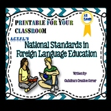 ACTFL National Standards in Foreign Language Education Fun