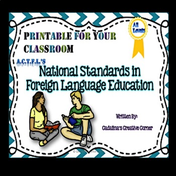 National Standards in Foreign Language Education Fun Class
