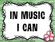 National Standards of Music Education & I Can Statement {Hawaiian Tiki Beach}