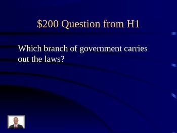 National, State, and Local Government Jeopardy Review Game