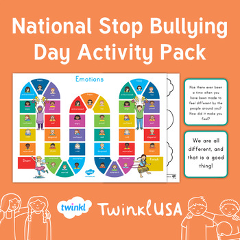 National Stop Bullying Day Activity Pack