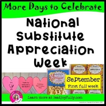 National Substitute Appreciation Week (first full week of