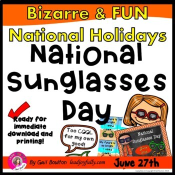 National Sunglasses Day (June 27th)