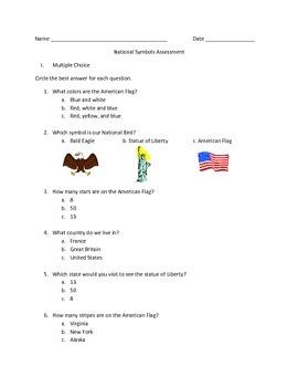 National Symbols Assessment