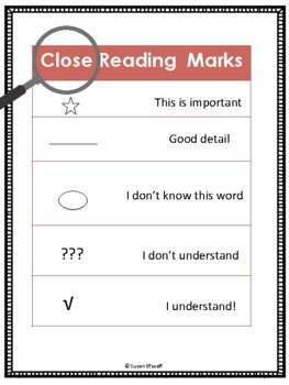 Close Read - National Symbols Close Reading - Literacy Bundle