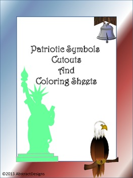 National Symbols Cutouts & Coloring Sheets