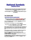 National Symbols Graphic Organizers