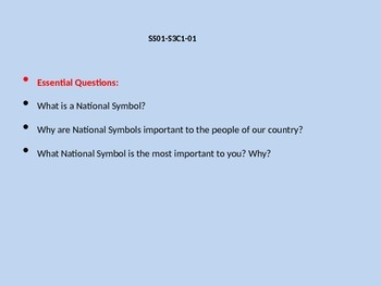 National Symbols Power Point
