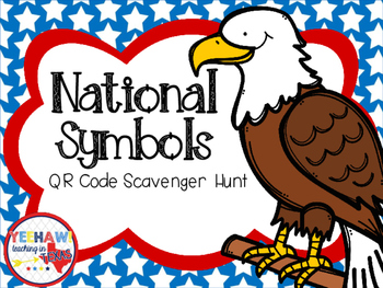 National Symbols QR Scavenger Hunt Freebie