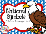 National Symbols QR Scavenger Hunt Freebie