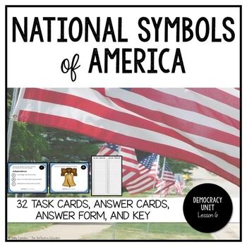 National Symbols of America ~ Task Cards