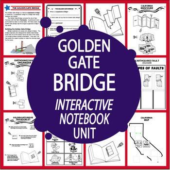 golden gate bridge national symbol interactive unit california