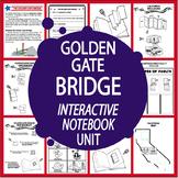 Golden Gate Bridge–National Symbol Interactive Unit + California Travel Brochure