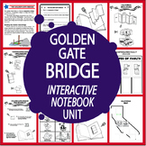 Golden Gate Bridge–National Symbol Interactive Unit + California Travel Brochure