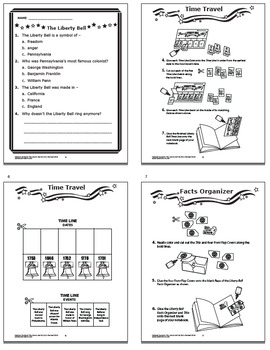 Liberty Bell–Interactive National Symbol Activities + American Symbol Paragraph