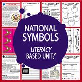 National Symbols Unit–13 American Symbol & Landmark Lessons–DISTANCE LEARNING