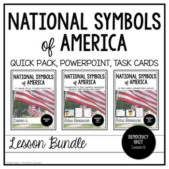 National Symbols of America ~ Lesson Bundle
