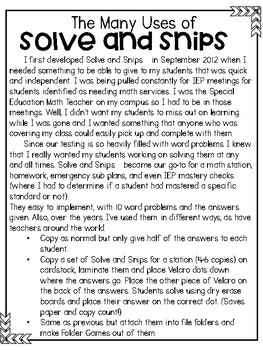 National Talk Like a Pirate Day Word Problems |  Solve and Snip® | 4th & 5th