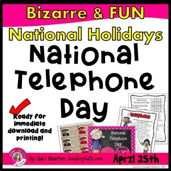 National Telephone Day (April 25th)