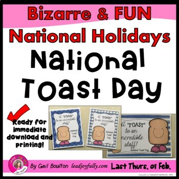 National Toast Day (February 23rd)