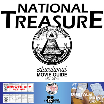 National Treasure Movie Guide   Questions   Worksheet (PG - 2004)