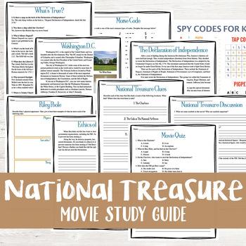 National Treasure Movie Study