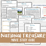 National Treasure Movie Study WITH Distance Learning/Googl