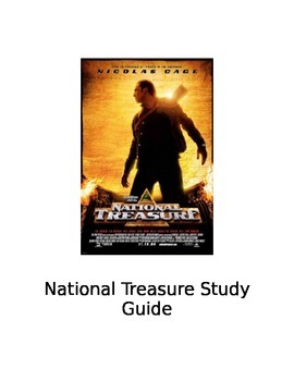 National Treasure Movie Study Guide