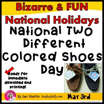 National Two Different Colored Shoes Day (May 3rd)