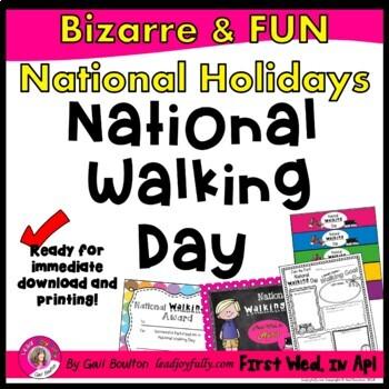 National Walking Day (April 4th)