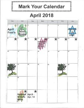Mark Your Calendar - National Wildlife Week