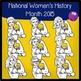 Women of History Clip Art 2015