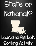 National or State? Louisiana and U.S. Symbols Sorting Activity
