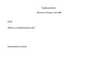 Nationalism 3