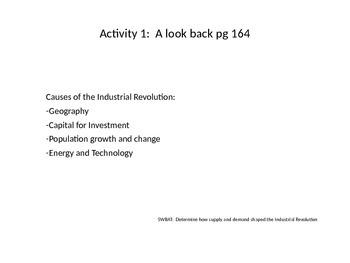 Nationalism 5-Industrial Revolution