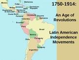 Nationalism- Latin American Revolutions