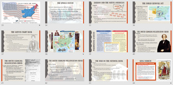 Nationalism, Sectionalism and The Age of Jackson PowerPoint