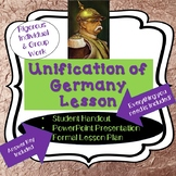 Nationalism: Unification of Germany Lesson Plan, PowerPoint & Close Read
