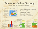 Nationalism: Unification of Italy and Germany PowerPoint K