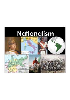 Nationalism Vocabulary Builder