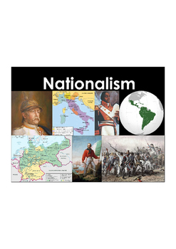 Nationalism Vocabulary Builder